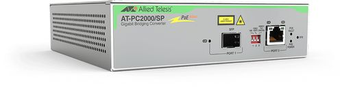 Allied Telesis Media Conv. AT-PC2000/ SP 1 GT/PoE-1 Gb SX/S (AT-PC2000/SP-60)