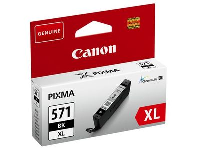 CANON Ink Cart/ CLI-571XL Black (0331C001)