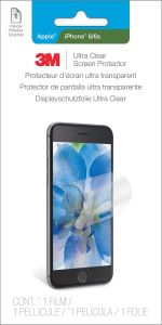 3M Ultra Clear Screen Protector for iPhone 6 (UCPAP001)