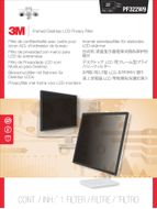 3M PF322W9 FRAMED PRIVACY FILTER 21.5-22.0IN / 54.6-55.9 / 16:9 ACCS (98044060600)