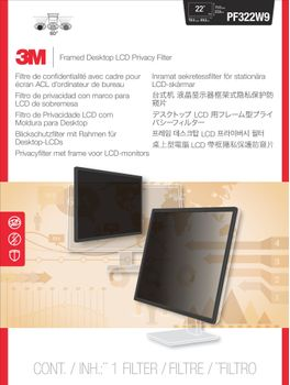 3M PF322W9 FRAMED PRIVACY FILTER 21.5-22.0IN / 54.6-55.9 / 16:9 ACCS (7100052421)