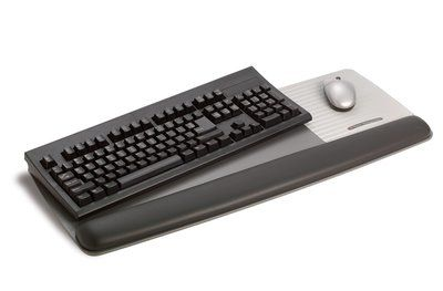 3M WRIST REST GEL KEYBOARD/ MOUSE GREY (WR422LE)