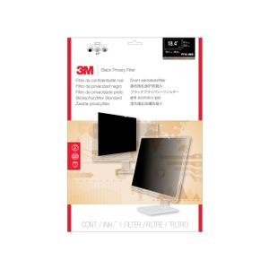 3M PF18.4W9 PRIVACY FILTER BLACK FOR 18.4IN / 46.9 CM / 16:9 ACCS (7000059562)