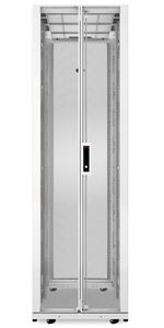 APC NetShelter SX 42U 600mm Wide x 1200mm Deep Enclosure with Sides White (AR3300W)