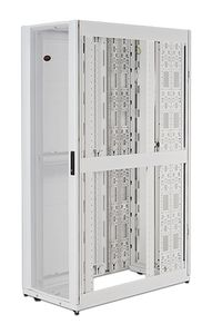 APC NetShelter SX 48U 600mm Wide x 1200mm Deep Enclosure with Sides White (AR3307W)