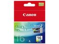 CANON BCI-16C ink cartridge colour standard capacity 7.5ml 199 pages 2-pack
