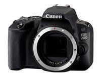 EOS 200D BODY BLK 25.8MP WIFI 3IN LCD FULL HD IN