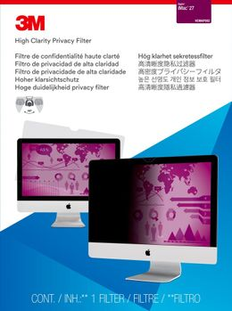 """3M High Clarity Privacy Filter iMac High Clarity Privacy Filter for 27"""" Apple iMac (HCMAP002)"""