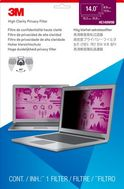 """3M High Clarity Privacy Filter Laptop High Clarity Privacy Filter for 14"""" Laptop (HC140W9B)"""