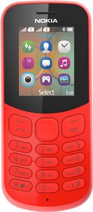 NOKIA 130 Red Phone F-FEEDS (A00028658)