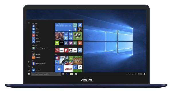"ASUS ZenBook UX550VE 15.6"" FHD matt GeForce GTX1050Ti,  Core i7-7700HQ,  16GB RAM, 512GB SSD, Windows 10 Home (UX550VE-BN020T)"