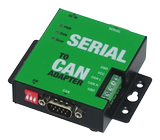 DELTACO RS-232 to CAN Adapter, with optional 12V pwr output