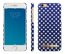 IDEAL Fashion Case Blue Polka Dots, for iPhone 6/6s, magnetic