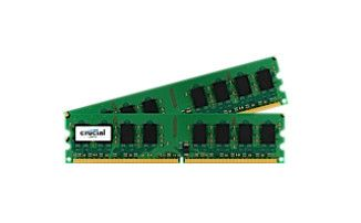 CRUCIAL 2GB kit DDR2 800MHz CL6 UDIMM 240pin (CT2KIT12864AA800)