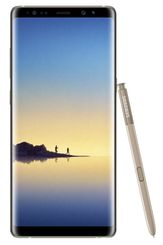 "SAMSUNG Galaxy Note 8 64GB Gold, 6.3"" QHD, 12-12/8MP camera, Android 7, MicroSD, Dual-sim,4G"