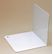Bünger Bookends angled metal 12,5cm white