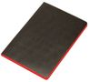 Bünger Notebook soft cover Black&Red A6 ruled 72 sheets