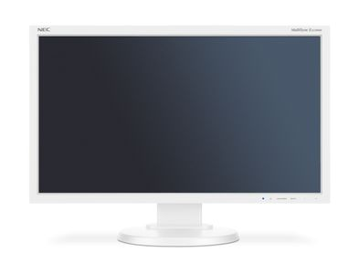 NEC MultiSync E233WMi White 23_ LCD monitor with LED backlight_ IPS panel_ resolution 1920 x 1080 (60004377)