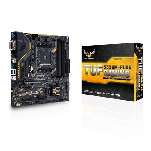 ASUS MK TUF B350M-PLUS GAMING (mATX_ AMD B350_ AM4) (TUF B350M-PLUS GAMING)