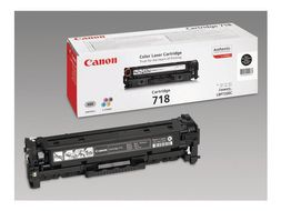 CANON CRG-718BK catridge black 2 pack (2662B005)