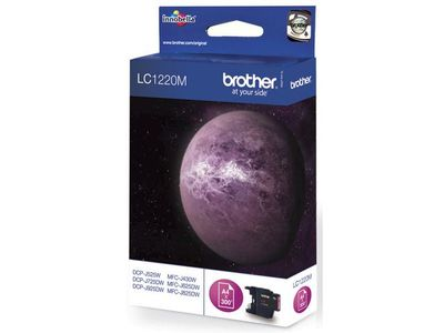 BROTHER LC1220M ink cartridge magenta (LC1220M)