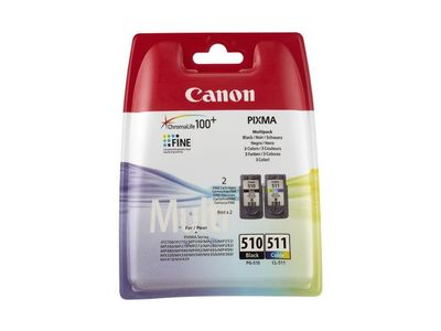 CANON PG-510 / CL-511 MULTI PACK 2 CARTRIDGES (2970B010)
