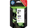 HP INK CARTRIDGE NO 301 B/C/M/Y COMBO 2-PACK SUPL