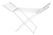 Nordic Home Culture Electric Clothes Rack Dryer with Timer