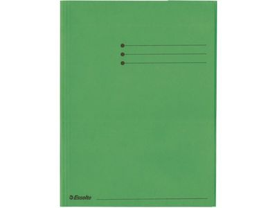 ESSELTE Folder 3-flap  Rainbow Card A4 Green (44226*25)