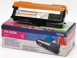 BROTHER Toner Brother  TN320M rød 1500 sider (TN320M)