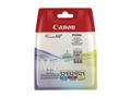 CANON CLI-521 C/M/Y MULTIPACK BLISTER COLOUR INK CARTRIDGE