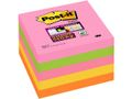 POST-IT Notes Post-it 654S-N Super Sticky 76x76 mm Neon Ass. Pk/5