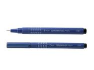 PILOT Fiberpenn PILOT Draw Pen 02 0,35mm sort (SW-DR-02-B*12)