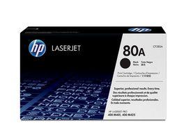 HP 80A svart LaserJet-tonerkassett,  original (CF280A)