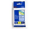 BROTHER TZE-531 LAMINATED TAPE 12MM 8M BLACK ON BLUE SUPL