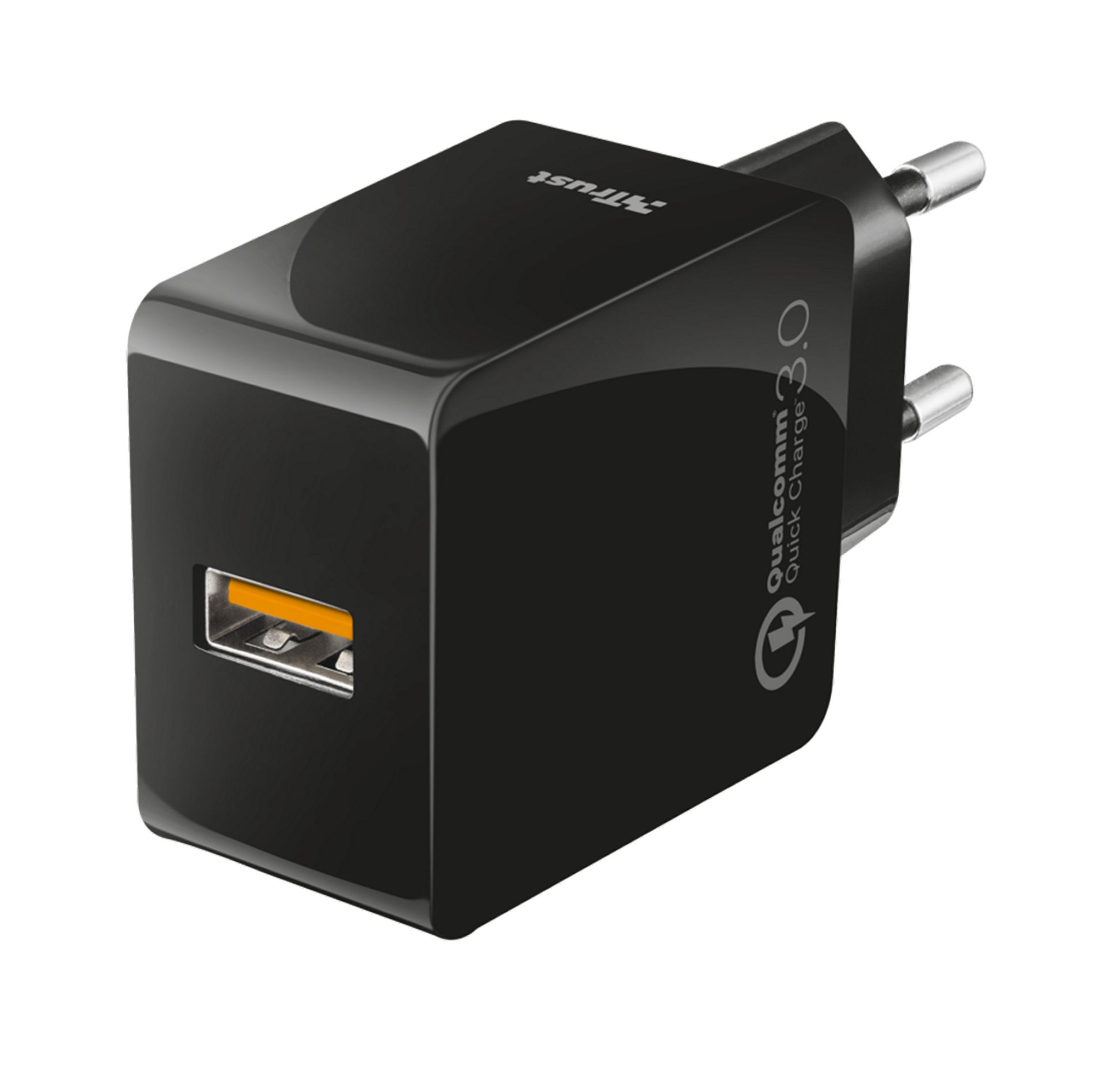 Trust URBAN Ultra Fast - Strømadapter - 18 watt - Quick Charge 3.0 (USB) (21818)