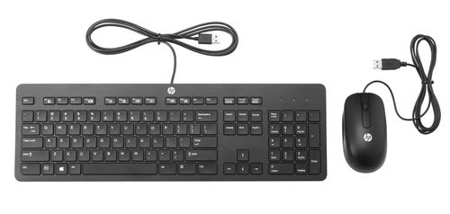 HP Slim USB Keyboard and Mouse (T6T83AA#AKB)
