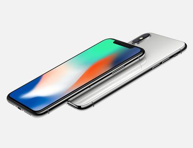 APPLE iPhone X - 64 GB - Sølv (MQAD2QN/A)