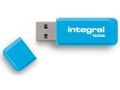 INTEGRAL USB Flash Drive Neon 16GB USB 2.0 - Blue