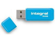 INTEGRAL Minne INTEGRAL USB Neon USB 2.0 16GB (INFD16GBNEONB)