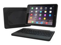 RUGGED BOOK WITH KEYBOARD IPAD AIR 2 BLACK BACKLIT NORDIC