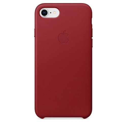 APPLE IP7/8 Leather Case Red (MQHA2ZM/A)