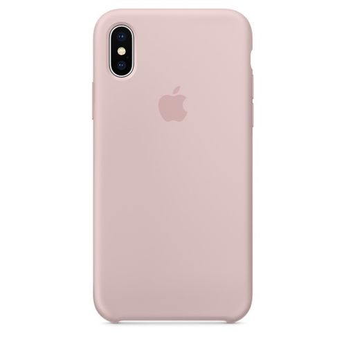 APPLE iPhone X Silicone Case - Pink Sand (MQT62ZM/A)