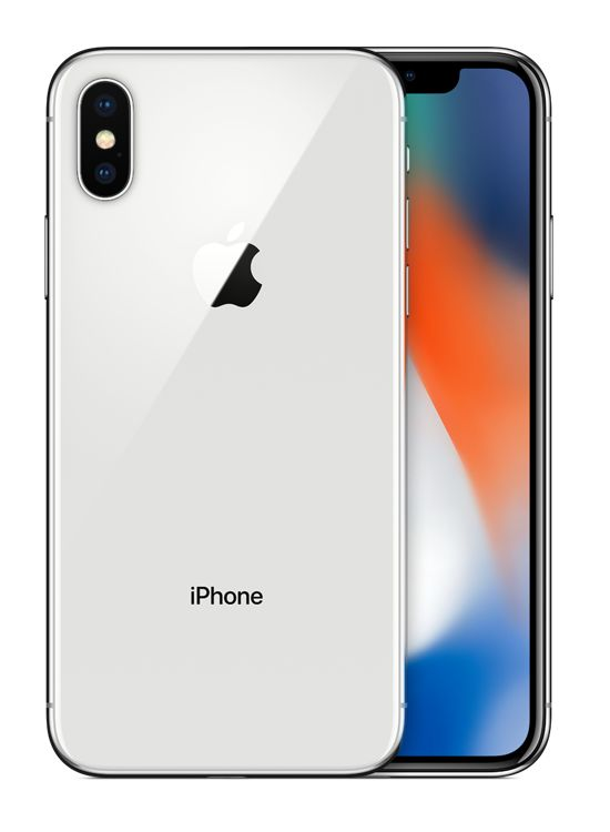 APPLE iPhone X 64GB Silver | DataIT