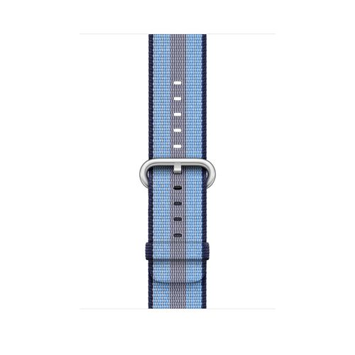 APPLE 42MM MIDNIGHT BLUE STRIPE WOVEN NYLON ACCS (MQVU2ZM/A)