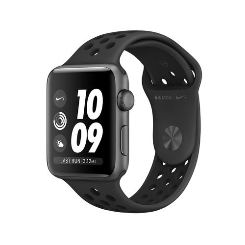 APPLE Watch Nike+42mm SGAlu Case Ant/Black (MQL42DH/A)