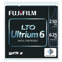 FUJI LTO Ultrium-6 2.5/ 6.25TB Standard Pack label (18496*20)