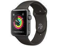 Watch Series 3 GPS 42mm Space Grey Aluminium Case with Grey Sport Band