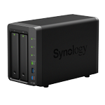 SYNOLOGY DS718+ 2BAY 1.5 GHZ QC 2X GBE 2GB DDR3L 3X USB 3.0 1X ESATA IN (DS718+)