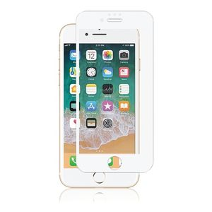 PANZER iPhone 8/7, Curved Silicate Glass, White (389619)